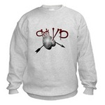 Anti VD sweatshirt ( design is also available on hats, mugs,men's apparel, women apparel, and junior apparel)