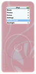 SLAPPA SlipScreen for the iPod nano - pink version