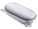 SLAPPA HardBody PSP Daily Case - white & silver version