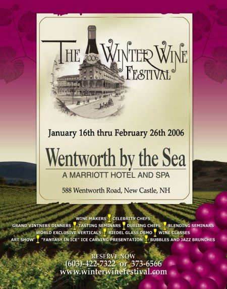 Six Week Long Winter Wine Festival At The Wentworth By The