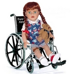 Wheel Chair Doll