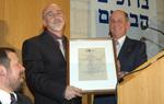 Dr. Alon Tal in awarded The Charles Bronfman Prize in Jerusalem
