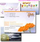 SpaBoom Gift Certificate Samples