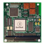Eurotech PC/104 module providing an MVB interface for enhanced communication capabilities onboard trains: COM-1240