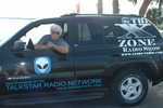 Rob In The 'X' Zone Cruiser at Kennedy Space Center