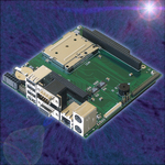 The Smallest Embedded Motherboard Using Both ETX CPUs and PC/104 Modules