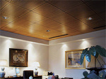 WoodTrends 2' x 2' acoustic ceiling panels