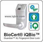 BioCert® iQBio™ Guardian XL Door Lock