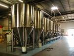 Saint Arnold Brewing Company's new tank is twice the size of its existing tanks and can brew 3,720 gallons or close to 40,000 bottles of beer.
