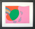 """Peter Max """"Close to the Sun"""""""