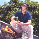 Distiller Marko Karakasevic in Blood Orange Grove