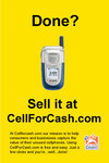 Done? Sell it at CellFOrCash.com!