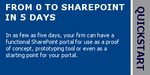 From 0 to SharePoint in 5 Days