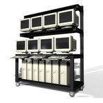 """LAN Computer Rack 72"""""""