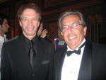 Producer Jerry Bruckheimer and Charity Music President Roger Fachini pictured at the Governor's Awards for Arts & Culture held at the Detroit Opera House Nov. 15, 2005