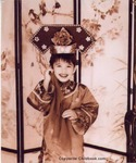 Daughter in Chinese Traditional Dress