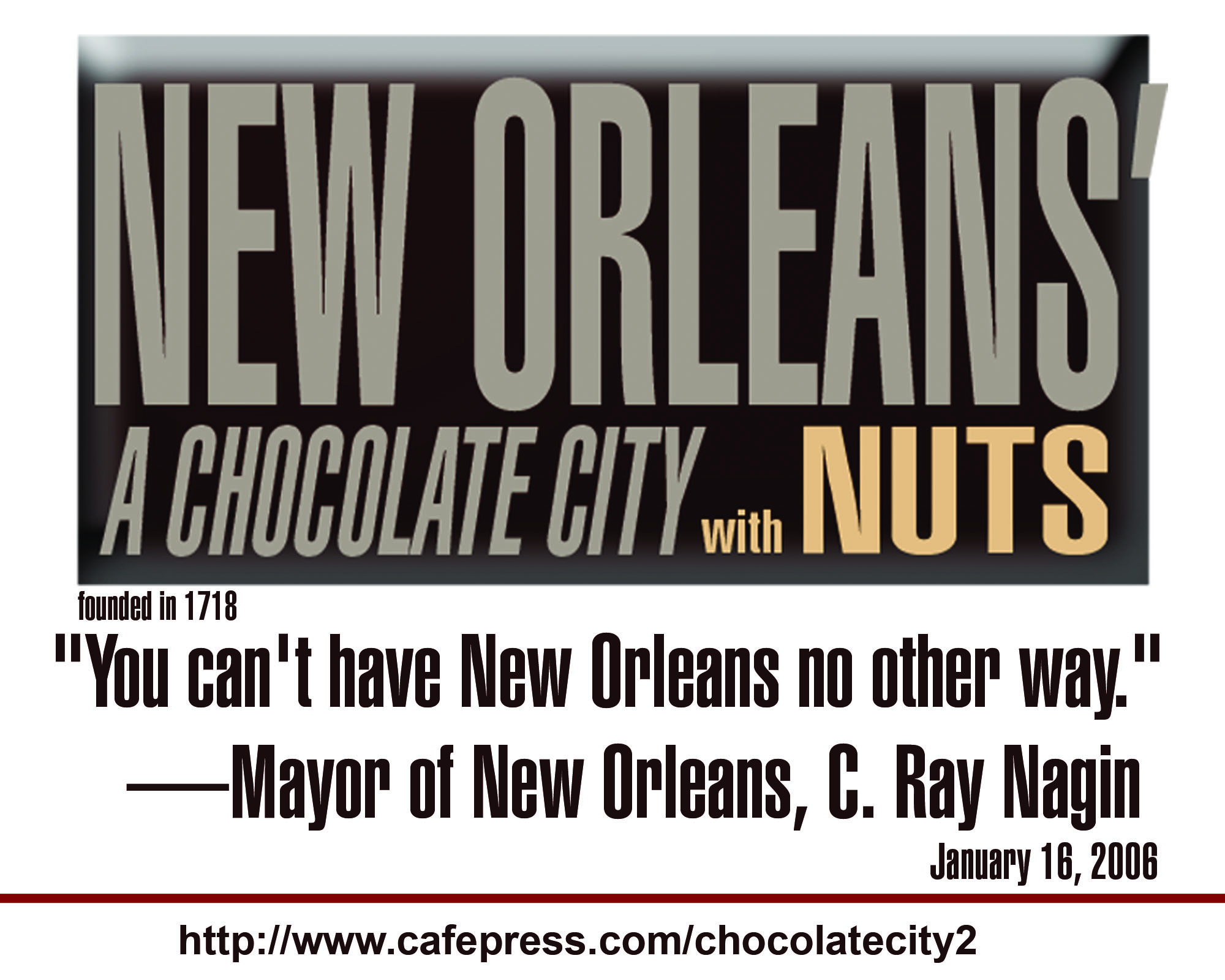 New Orleans' Chocolate City Shirts Wear Well Across the Country