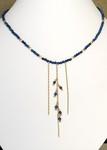 Lapis Cascade Necklace