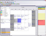 Employee Schedule Month View