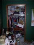 Storage area before organizing