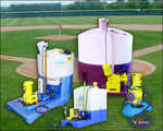 Baseball diamonds, football fields, soccer fields, golf courses, and sports turf of every kind will benefit from Agri-Inject's fertigation systems.