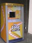 The Zone automated rental kiosk