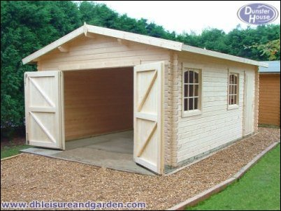 Reducing The Risk Of Vehicle Crime With A Wooden Garage Kit