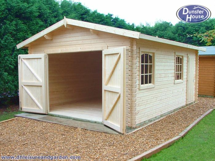 Diy small wood shed wooden garage kits simple garden for Diy garage packages