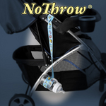 The patented NoThrow child care product