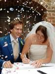 Helen Rankin Wedding Using Instant Photo Guest Book