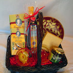 Basket of Taste of Crete Products