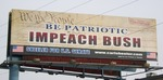 Impeach Bush Billboard