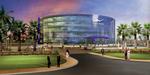 Artist's impression of Pacific Controls' new Green Building Headquarters at the Dubai Techno Park