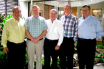 Joseph McElmeel, Chairman and CEO with Affiliate Presidents