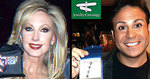 Morgan Fairchild and comedian Ant, recipients of jewelrycrossings.com WPT Jewelry at AMA Awards.