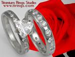 Titanium Rings Studio Valentines Day