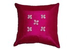 Silk/Cowrie Pillow