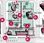 Philly audioWalk Tour Map