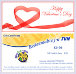 GiveFun Valentine's Gift Certificate