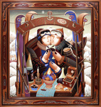 """Enchanted Journey"" by Artist Anton Arkhipov — the official artwork of the 16th annual Taste of Vail — ""uses symbolism as part of a fantasy,"" says Kevin Frest of Frest & Royce Fine Art, which represents the artist."