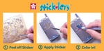 Sticklers Steps 123 for Cell Phones