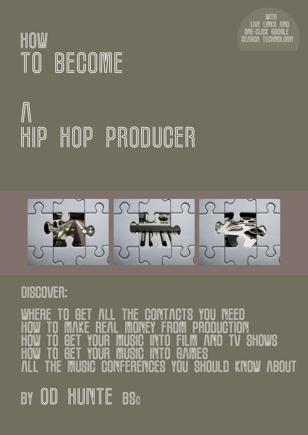 ow To Become A Hip Hop Producer PDF eBook by OD Hunte Front Cover