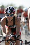 Timex Team Pro Triathlete, Kimberly Hager, riding on her Quintana Roo