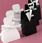 """Dress and Tuxedo Favor Box - All time favorite of  weddingfavorsandgiftideas.com"""