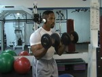 Ron Coleman Works Out with AudioBand