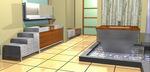 Rendering of Julien Bathroom Suite by Troy Adams Designs