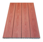 Quadra Vinyl Decking - Redwood