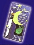 Johnny Light -- unique night light for the commode -- shown in package.