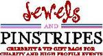 Jewels and Pinstripes logo
