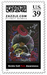 Need not Suffer Alone - Sickle Cell Postage Stamp